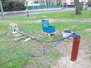 Essais de pompage des eaux souterraines 44 EMPB - Nantes Philippe Berlandier